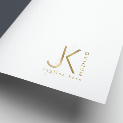 jk letters logo ontwerp